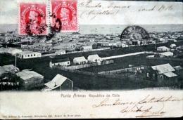 CHILI CHILE  PUTA ARENAS REPUBLICA DE CHILE  TIMBRES ET CACHETS