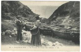25, Pointe Du Raz. - Au Porzen, Le Refige Des Barques - LL - La Pointe Du Raz