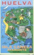 Huelva - 2002 - Série Graphique - Destino Isla Canela Ayamonte - España - 2027 - Huelva