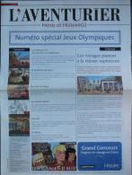 Martin - Univers Alix Lefranc - Journal Promo L´aventurier - Jeux Olympiques - Livres, BD, Revues