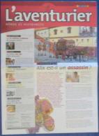 Martin - Univers Alix Lefranc - Journal Promo L´aventurier - Heros Et Histoire - Livres, BD, Revues