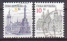 Tschechien  16 + 17 , O ,  (D 1754) - Gebraucht