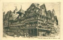 14 - LISIEUX - Vieilles Maisons De La Grande Rue - Lisieux