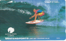 HAWAII - Watersports 3, Tirage 3000, Mint - Hawaï