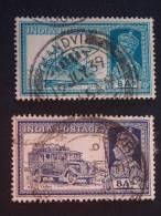 1937 King GV1 Sg 256 & 257 - India (...-1947)