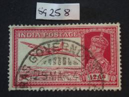 1937 King GV1 Sg 258 12 Annas - India (...-1947)