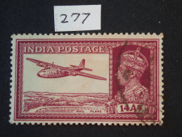 1937 King GV1 Sg  277  14 Annas (1) - India (...-1947)