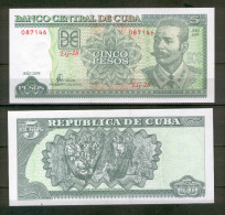 CUBA : 5 pesos 2004. pk.116 g.  SC.NEUF.UNC.