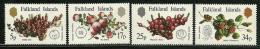 "Falkland Islands     ""Local Fruit""      Set      SC# 379-82    MNH** - Falkland Islands"