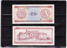 CUBA : 20 pesos 1985, FOREING EXCHANGE CERTIFICATES. pk. FX 5.  SC.NEUF.UNC.
