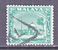 Selangor 46  (o)  1935-41 Issue - Selangor