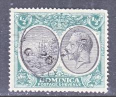 DOMINICA  65  (o)  Wmk. 4 - Dominica (...-1978)