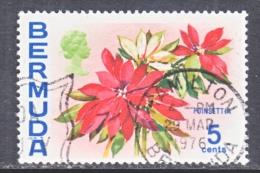 Bermuda 259  (o)  1970 Issue  FLOWERS - Bermuda