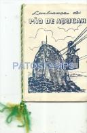 1634 BRAZIL BRASIL RIO DE JANEIRO PAO DE AÇUCAR AND MULTI VIEW 8 EIGHT MINI PHOTO NO POSTAL POSTCARD - Old Paper