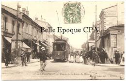 33 - LE BOUSCAT - Entrée De La Route Du Médoc ++++ M. Delboy, Bordeaux, #1 ++++ Vers Gisors, 1907 - Altri Comuni