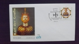 Deutschland BRD 2088 FDC, 1200 Jahre Aachener Dom,  Karl Der Große (747-814), Büste Als Reliquiar (1350) - [7] Repubblica Federale