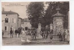STAINVILLE (Meuse) - La Gendarmerie Et L'entrée Du Chateau - (20) - France