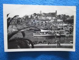 Cannes (Alpes Maritimes 06). Le Port Et Le Mt Chevalier. Munier 14. Voyage 1946. - Cannes