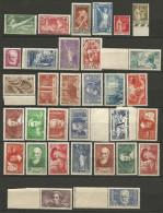 SELECTION DE FRANCE ENTRE 1924 ET 1940 NEUF** LUXE GOMME D'ORIGINE SANS CHARNIERE / COTE 1210�