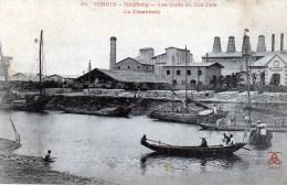 Tonkin -  Haïphong - Les Bords Du Cua-cam - La Cimenterie - Vietnam