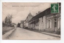 René (Sarthe) - Entrée Par Route De Beaumont-sur-Sarthe - Café De La Mairie - (20) - Other Municipalities