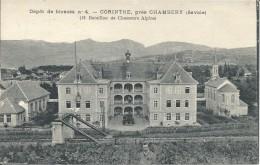 EN L ETAT - CORINTHE PRES DE CHAMBERY - DEPOT DE BLESSES N04- 13 BATAILLON DE CHASSEURS ALPINS - Chambery