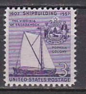 H1337 - ETATS UNIS UNITED STATES Yv N°632 ** NAVIRE - Stati Uniti