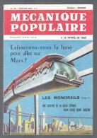 MECANIQUE POPULAIRE - N° 212  - Année 1964 - Monorails - Photographie - Jouets - Fusées - Survie En Mer -   Etc   (3879) - Bricolage / Technique