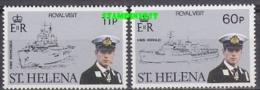 St. Helena 1994 Royal Visit 2v ** Mnh (19227) - Sint-Helena