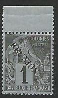 REUNION N° 17 AVEC ACCENT SUR LE E  NEUF** LUXE BDF SANS CHARNIERE / COTE 150€ - Reunion Island (1852-1975)