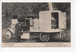 Canon Allemand Contre Aéroplanes - German Cannon For Destroying Aeroplane  (20) - Equipment
