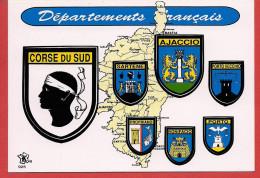 Carte Contour Géographique Du Département De La CORSE - Non Classificati