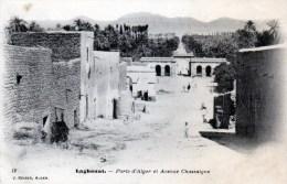porte d'alger et avenue chassaigne en 1907