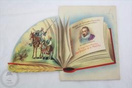 Old Illustrated  Greeting Card - Miguel De Cervantes: Don Quixote/ Don Quijote De La Mancha -C. Vive Spanish Illustrator - Illustrateurs & Photographes