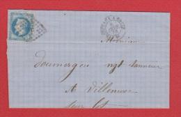 Lettre //  De Bordeaux  //  Pour Villeneuve  //  8 Février 1868 - 1849-1876: Klassik