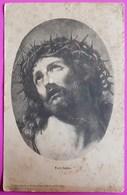Cpa Ecce Homo Carte Postale Jesus Christ - Jesus