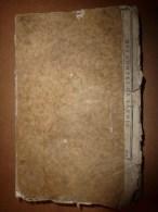 1788 Rare Cours Avec Planches D´application : Mathématiques à L´usage Du CORPS ROYAL D´ARTILLERIE - Libros, Revistas, Cómics