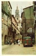 POSTAL   6.-  SANTIAGO   -GALICIA  - CALLE DEL VILLAR  ( RUE DU VILLAR - VILLAR'S ROAD ) - Santiago De Compostela