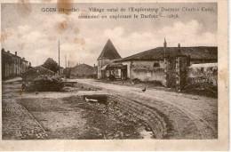 57 GOIN - Village Natale De L'Explorateur Docteur Charles Cuny Assassiné En Explorant Le DARFOUR 1858 - Autres Communes