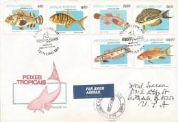Mozambique 1979 Maputo Tropical Fish FDC Cover - Mozambique