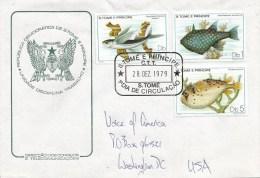 Sao Tome E Principe 1979 S Tome Tropical Fish FDC Cover - Sao Tome En Principe