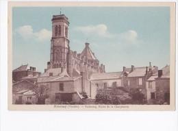 Carte 1930 AIZENAY / FAUBOURG , ROUTE DE LA CHARPENTRIE - Aizenay