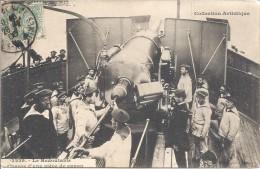 """Navire """"Le Redoutable"""" - Charge D'une Pièce De Canon - C69 1 - Guerre 1914-18"""