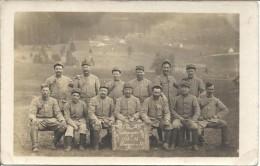 Carte-photo De Soldats Du 75ème Régiment - C70 1 - Guerre 1914-18