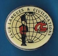 PIN�S //    . CLUB DES LANGUES & CIVILISATIONS