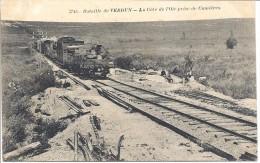 55 - Verdun - Un TRAIN Dans La Côte D'OIE  Prés De CUMIERES -  C71 1 - Matériel