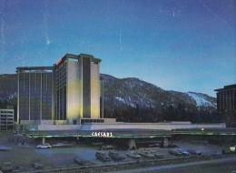 11796- LAKE TAHOE- CAESARS TAHOE HOTEL BY NIGHT, CAR - Etats-Unis
