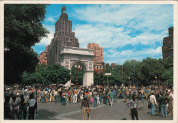 11824- NEW YORK CITY- GREENWICH VILLAGE, WASHINGTON ARCH - Greenwich Village