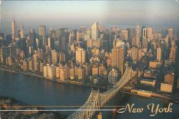 11838- NEW YORK CITY- QUEENSBORO BRIDGE, PANORAMA - Ponts & Tunnels