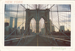 11839- NEW YORK CITY- BROOKLYN BRIDGE, SKYLINE - Ponts & Tunnels